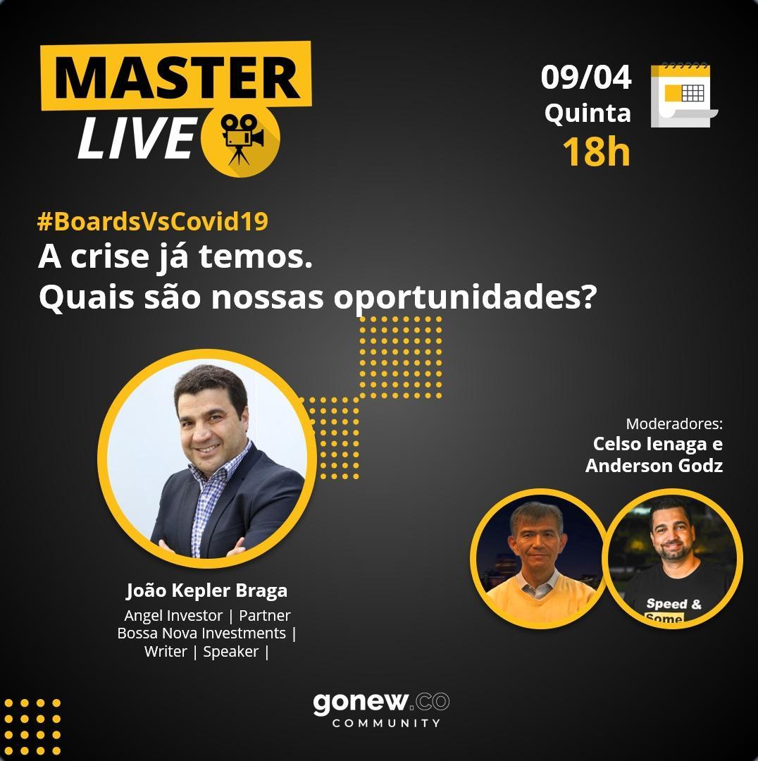 MasterLives: Veja a série com protagonistas da alta gestão, governança e nova economia no país.