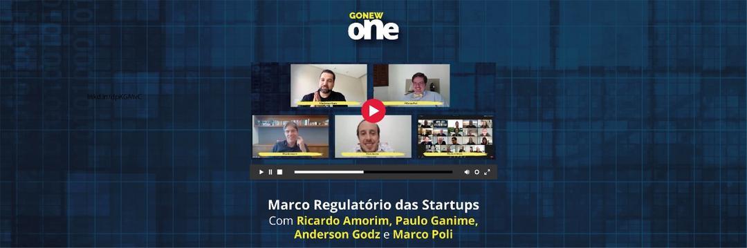 GonewONE: deputado Paulo Ganime discutiu o Marco Regulatório das Startups