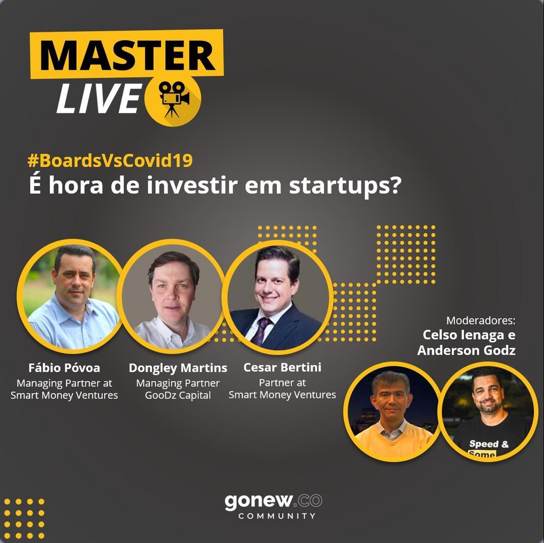 MasterLive #004 - É hora de investir em startups?
