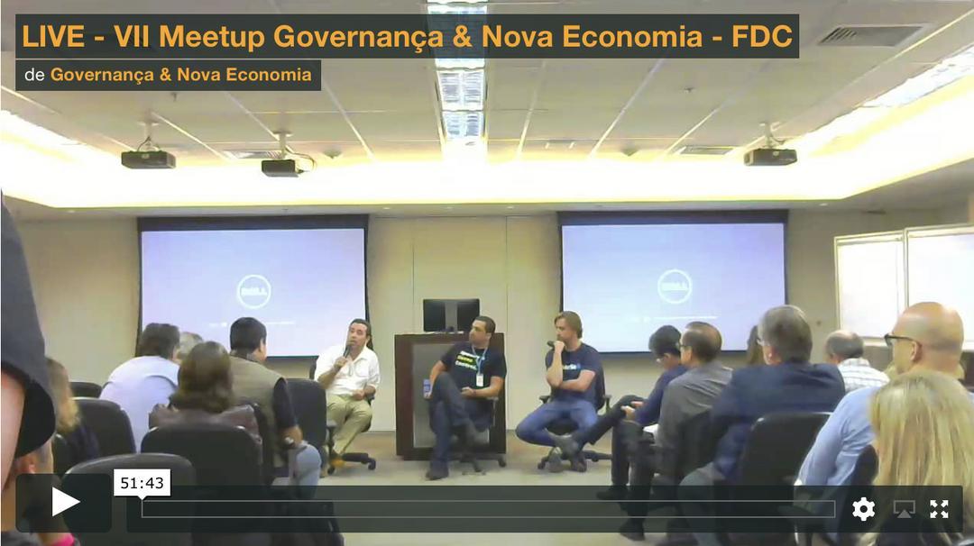 Assista ao live do VII Meetup Governança & Nova Economia realizado na FDC - Fundação Dom Cabral