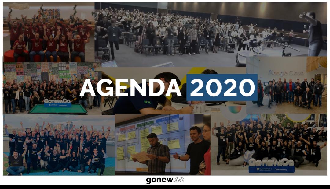 Agendas 2020 já confirmadas!