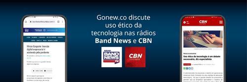 Gonew.co discute uso ético da tecnologia nas rádios CBN e Band News